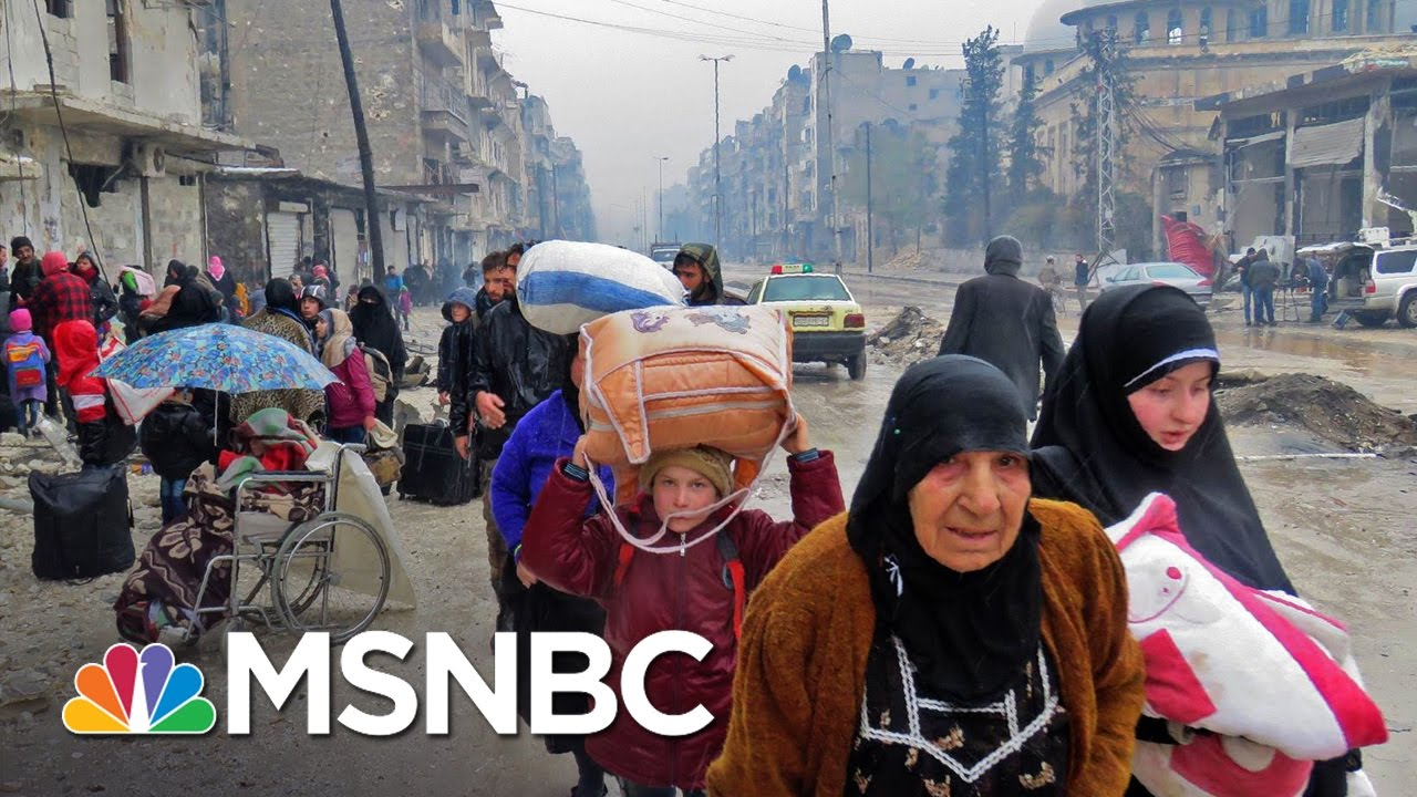 Fighting Reportedly Resumes In Aleppo Hours After Ceasefire | MSNBC thumbnail