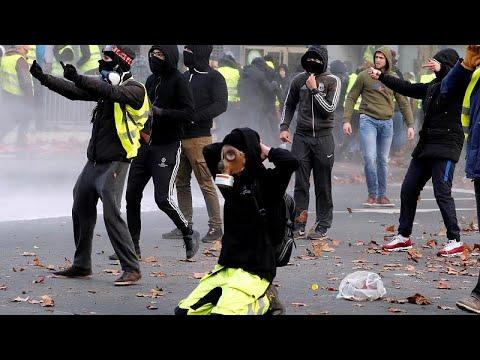 Στο Βέλγιο εξαπλώνονται τα Κίτρινα Γιλέκα