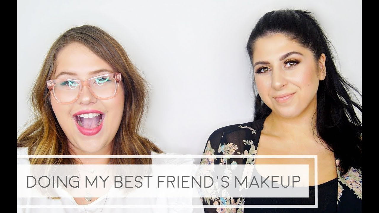 Easy Glam Tutorial – Doing My Best Friend's Makeup