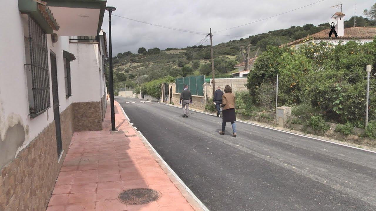 Trabajos en la calle Benito de Honda Cavada