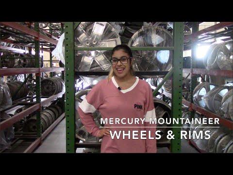 Factory Original Mercury Mountaineer Wheels & Mercury Mountaineer Rims – OriginalWheels.com