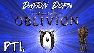 Oblivion Roleplay Pt1. : Waking In A Strange Land (Oscuro's Oblivion Overhaul, Modded Oblivion)