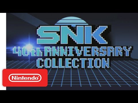 SNK 40th ANNIVERSARY COLLECTION Date Announcement Trailer - Nintendo Switch thumbnail