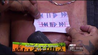 Gente Regia - Ramsés se hace un tatuaje
