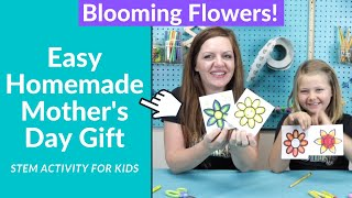 Last Minute Mother's Day Gifts Homemade - STEM Activities For Kids