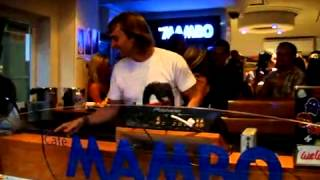 CAFE MAMBO IBIZA PRESENTS  DAVID GUETTA THURS 6TH AUGUST 2009