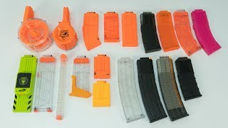Nerf Magazine Overview   WHICH MAG IS BEST?!