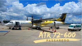 Avião ATR 72-600 Passaredo - Voo Brasília - Ribeirão Preto