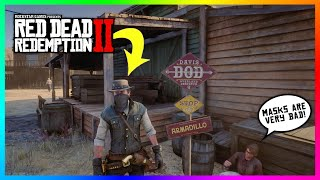 What Happens If You Wear A Mask In Armadillo In Red Dead Redemption 2? (SECRET Outcome)