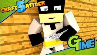 Der TUNNEL ÜBERTRIFFT ALLES! - Minecraft Craft Attack 5 #105 | Gamerstime