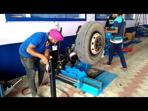 Manatec HCV Tyre changer