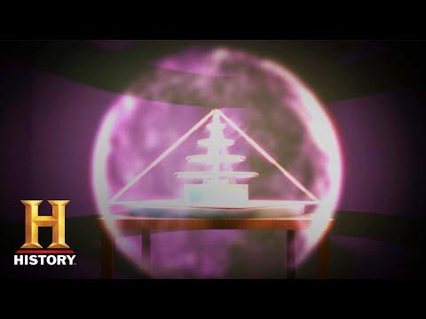 Mysterieus krachtveld GeneerdePyramide Portaal