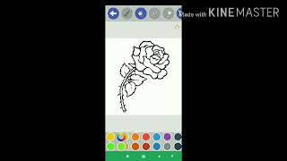 Flower Coloring Pages Salt Painting .