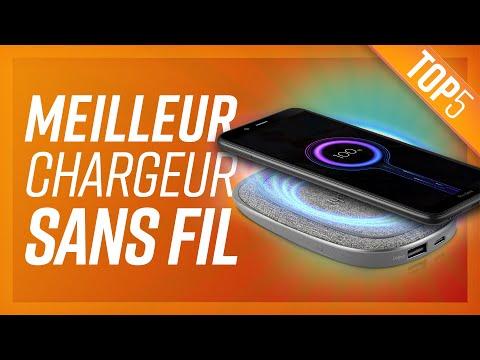 TOP5 : MEILLEUR CHARGEUR SANS FIL (2020)