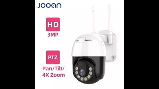 Наружная охранная поворотная купольная IP камера Jooan Q7 3 Мп, 4 кратное увеличение.