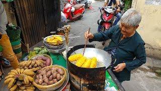 Trao 100 USD cho cụ bà 84 tuổi bán chuối chiên và Tịnh xá Ngọc Quang