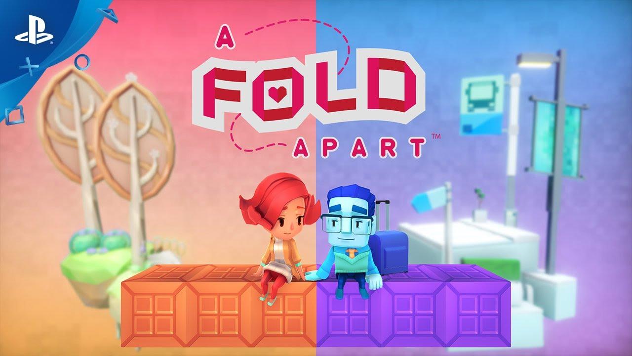 A Fold Apart Explora Las Emociones de las Relaciones a Larga Distancia en un Mundo de Papel Plegable, Espéralo Mañana en PS4