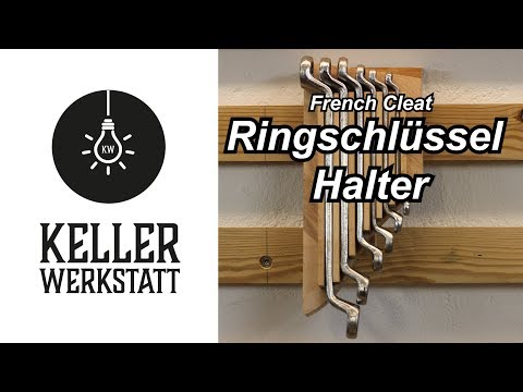 French Cleat Ringschlüssel Halter