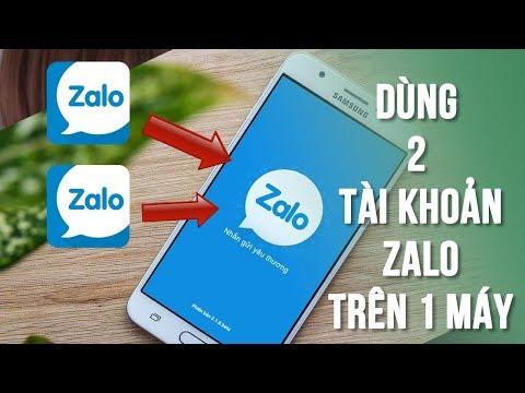 Cách dùng 2 tài khoản Zalo trên 1 máy cực dễ
