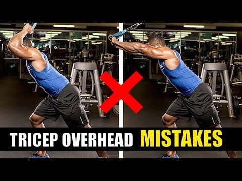 TRICEPS OVERHEAD CABLE EXTENSION- 5 Mistakes [खतरनाक गलतियां]