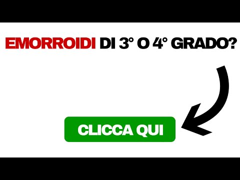Emorroidi in video