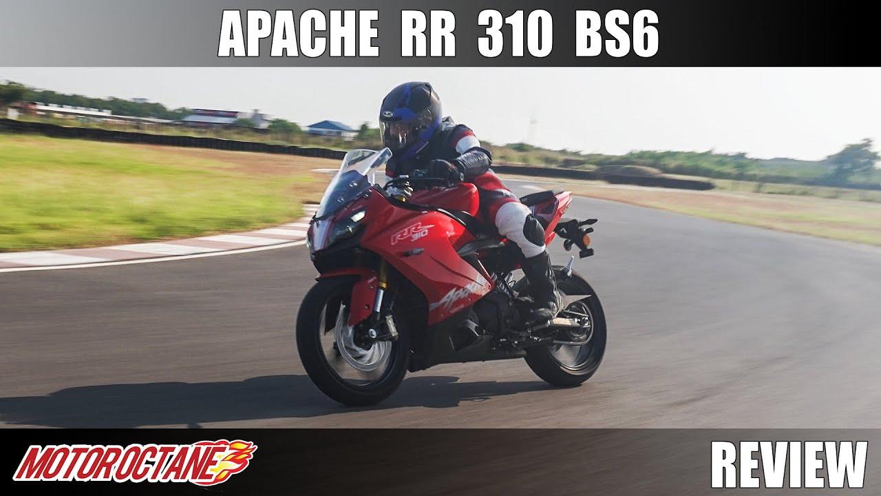 Motoroctane Youtube Video - 2020 TVS Apache RR 310 BS6 Review | Hindi | MotorOctane