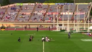 2017 山形インターハイ陸上 女子4×100mR 準決勝1~3