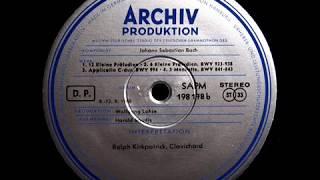 JS Bach / Ralph Kirkpatrick, 1958: 12 Kleine Präludien / 6 Kleine Präludien, BWV 933-938