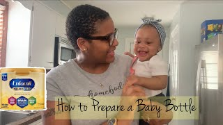 How to Prepare a Baby Bottle with Enfamil Neuropro Infant Formula