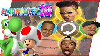 The GREATEST Comeback In Mario Party History?! - Mario Party 10 Gameplay