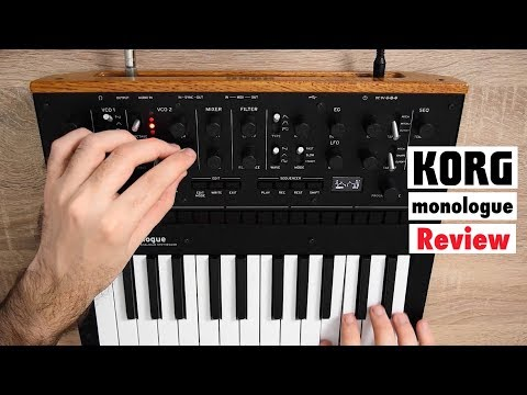 KORG monologue Analog Monophonic Synthesizer – Overview | Sound Demo | Review