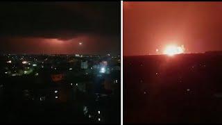 video: Rocket fire prompts Israeli fighter jets to bomb Gaza