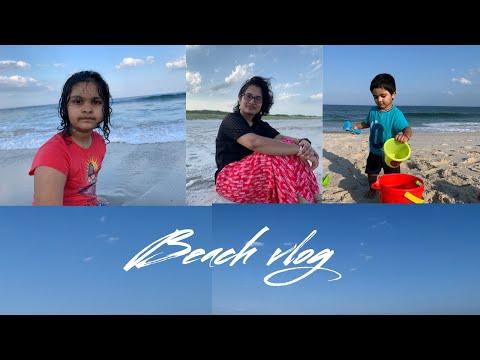 Beach vlog || చాలా రోజుల తర్వత beach కి వెళ్ళము || Telugu Vlogs from USA