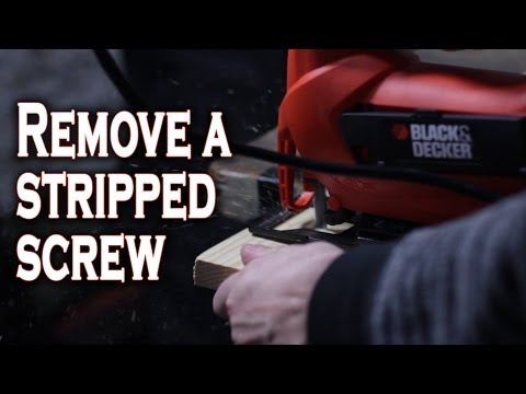 The Best Ways To Remove A Stripped Screw, In Video Form