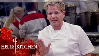 Chef Threatens To Quit On The FIRST SERVICE | Hell's Kitchen