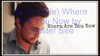 (dj ted style) Where Are You Now by Chester See with lyrics