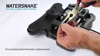 Watersnake Foot Pedal Potentiometer Replacement
