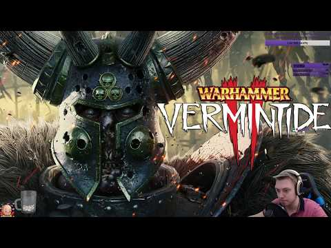 Warhammer: Vermintide 2 - Полное прохождение игры на релизе. + фан с Твич интеграцией