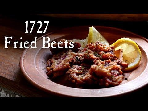 """""""Fried Beets"""" from 1727"""