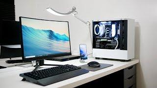 My Video Editing/Student IKEA Desk Setup Tour (2019)