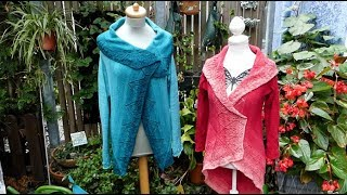 "Strickanleitung Jacke ""Quadratur des Kreises"" - easy Version"
