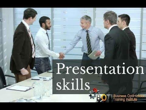 Presentation Training Course - YouTube