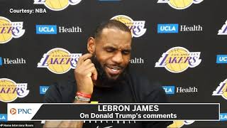 LeBron James Fires Back At Donald Trumps Kneeling Comments