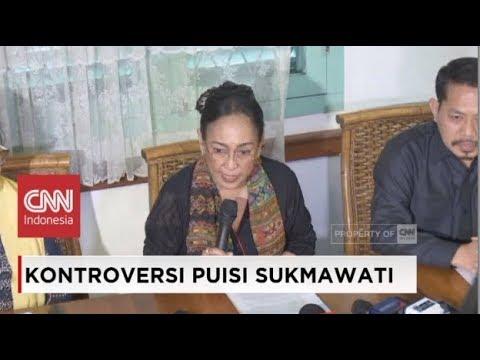 Terisak, Sukmawati Sampaikan Permintaan Maaf Soal Puisi 'Ibu Indonesia' yang Dituding Lecehkan Islam