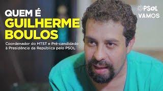 Guilherme Boulos Pré-candidato à Presidência da República pelo PSOL