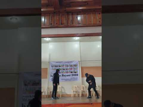 baguio city national high school LINK CLUB performance for kampus bayani 2019