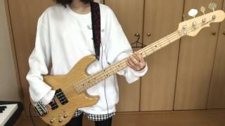 SHISHAMO【恋する】ベース弾いてみた!