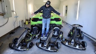I BOUGHT 3 of the FASTEST ELECTRIC GoKarts from CHINA ($5,300 NEW)