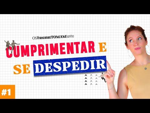 Curso Básico de Francês #1 | Cumprimentar e se despedir | Céline Chevallier
