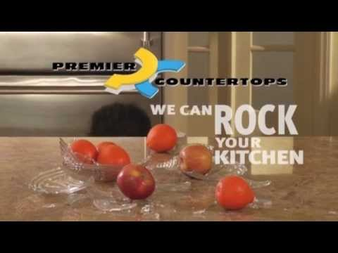 Countertop Commercial that Rocks
